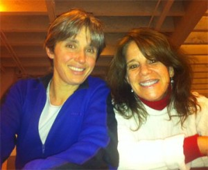 Emily Harris and Lisa Skube