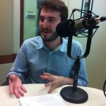 Josh Kramer, editor of The Cartoon Picayune (Photo by Michael O'Connell)
