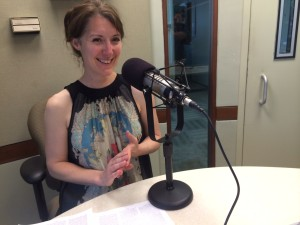 Ashely Messenger is senior associate counsel at NPR and adjunct professor at American University's School of Communication. (Photo by Michael O'Connell)