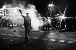 Ferguson, Missouri Protest by Ben Lowy
