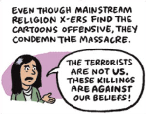 Cartoonists react to Paris attack
