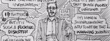 Ezra Klein of Vox.com by Dan Archer