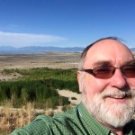 It's All Journalism Producer Michael O'Connell at the Great Salt Lake.