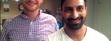 Dan Newman and Tejas Mistry talk to It's All Journalism about the NPR One app.