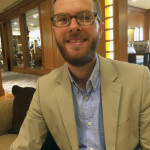 Jesse Holcomb is the associate director of research at the Pew Research Center. (Photo by Michael O'Connell)