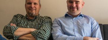 Michael Romano and Mark Pratt of Metro Publisher.