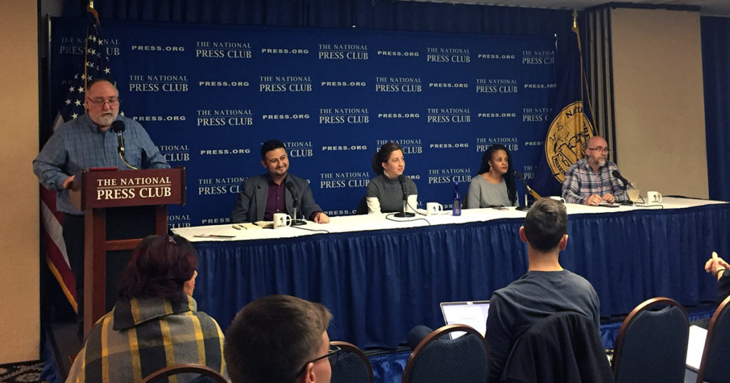 It's All Journalism gets out of the studio and hosts a panel about the future of the alternative press with Alexa Mills of the Washington City Paper, Jason Zaragoza of the Association of Alternative Newsmedia, Andrew Beaujon of Washingtonian Magazine and Lisa Snowden-McCray of the Baltimore Beat.