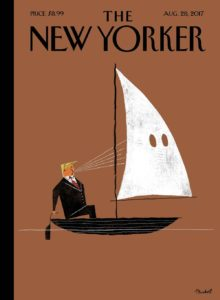 David Plunkert's first cover for The New Yorker.