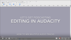 How to edit audio for a podcast