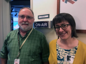 IAJ Producer Michael O'Connell welcomes Andrea Wenzel of Temple University to the studio.