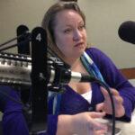 Tiffany Shackelford in studio in 2013