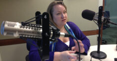 Tiffany Shackelford in studio in 2013