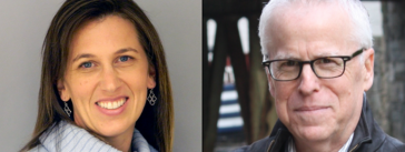 Jennifer Benz and Tom Rosenstiel