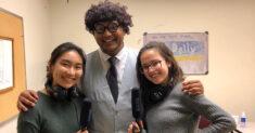 Eileen Toh, Karan Nevatia, and Natalie Bettendorf of the University of Southern California's Daily Trojan.