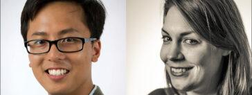 Duc Luu and Caroline Jones of the Washington City Paper